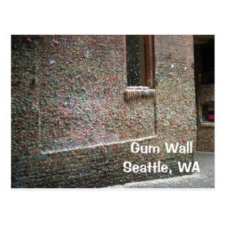 Gum Wall Post Card