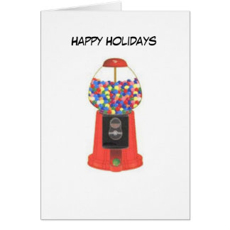 Gumball Machine Card