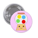 gumball machine cute! 3 cm round badge