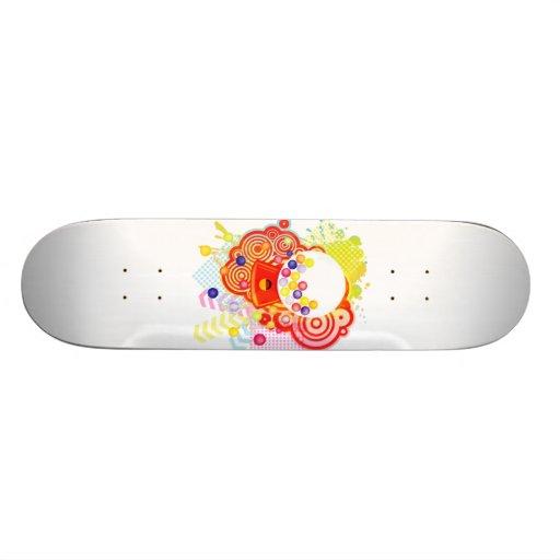 Gumball_Machine Custom Skate Board