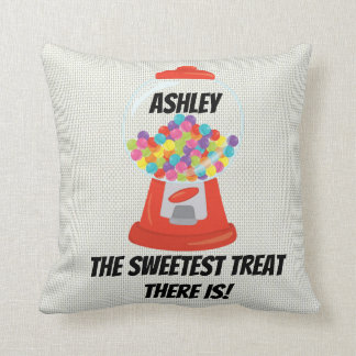 Gumball Machine Sweet Treat Hard Candy Gum Sugary Cushion