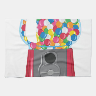Gumball Machine Tea Towel