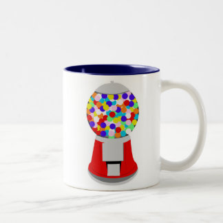 Gumball Machine Two-Tone Coffee Mug