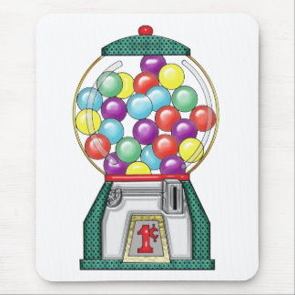 gumballs mouse pad