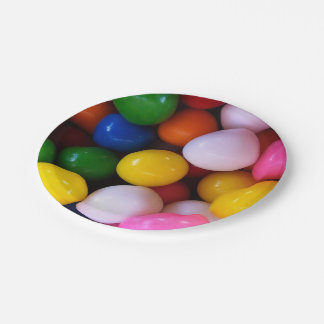 Gumballs Paper Plates 7 Inch Paper Plate