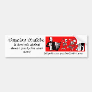 Gumbo Diablo Bumper Sticker