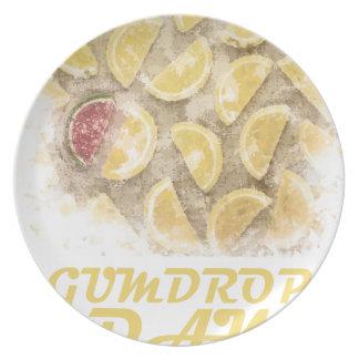 Gumdrop Day - 15th February Appreciation Day Plate