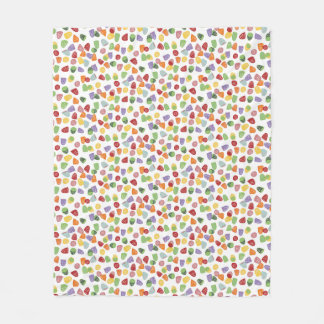 Gumdrops Fleece Blanket