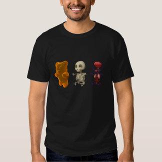 Gummi Bear Anatomy Trip DARK T-shirts