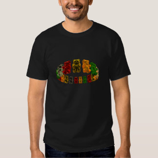 Gummi Bear Halo DARK T-shirts