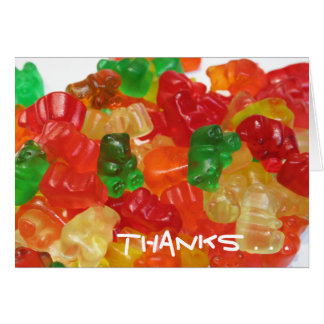 Gummi Jumble card