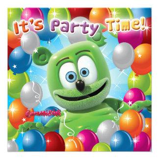 Gummibär The Gummy Bear Party Invitation