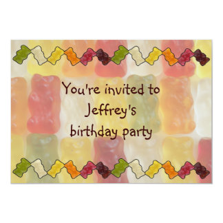 gummy bear chevron card