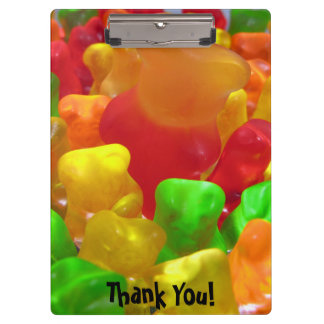 Gummy Bear Crowd Clipboard