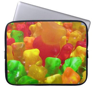 Gummy Bear Crowd Laptop Sleeve
