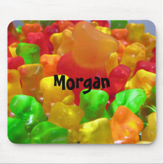 Gummy Bear Crowd Mouse Pad