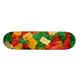 Gummy Bear Rainbow Colored Candy Skate Decks