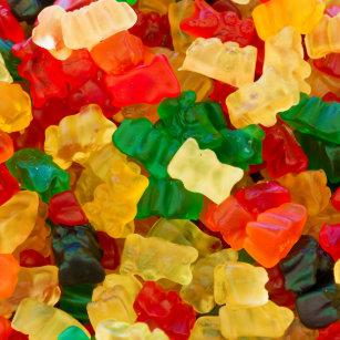 91f548ef500d41 Gummy Bear Rainbow Colored Candy Tile