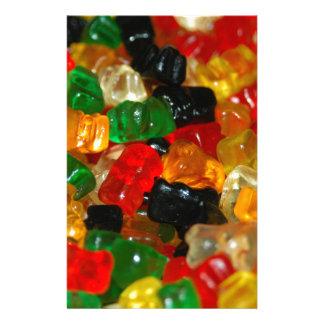 Gummy Bear Stationery Paper