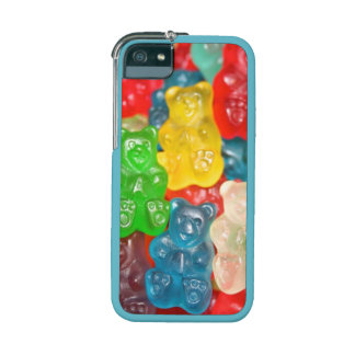 Gummy bears all over fun sweet pattern yummy iPhone 5 case