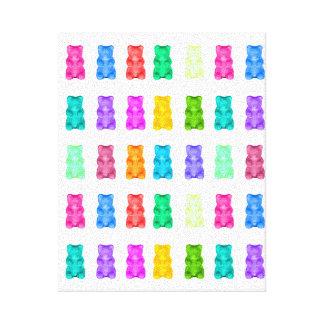 Gummy Bears Canvas Canvas Print