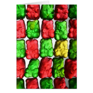 Gummy Bears Greeting Card