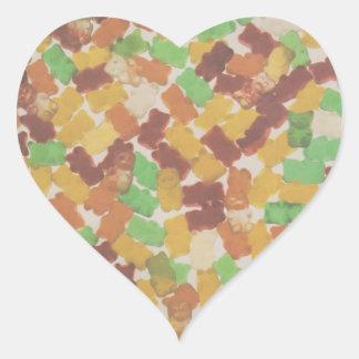 Gummy Bears Heart Sticker