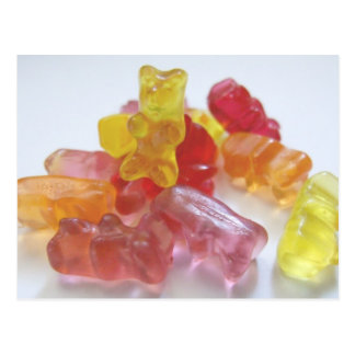 Gummy Bears Postcard