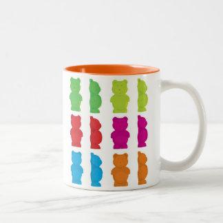 Gummy Bears Two-Tone Coffee Mug
