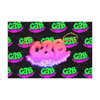 Gummy Grime Canvas Print