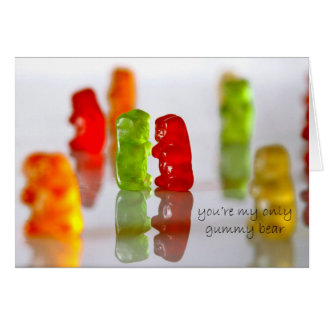 Gummy Love Card