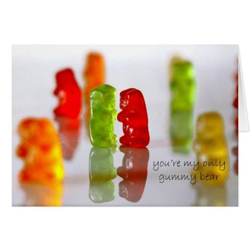 Gummy Love Greeting Cards