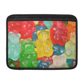gummybears,candy,colorful,fun,kids,kid,children,pa sleeve for MacBook air