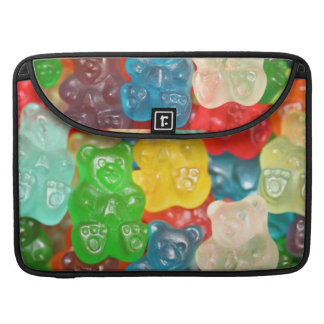 gummybears,candy,colorful,fun,kids,kid,children,pa sleeve for MacBooks