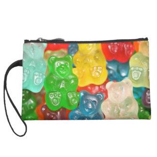 gummybears,candy,colorful,fun,kids,kid,children,pa suede wristlet