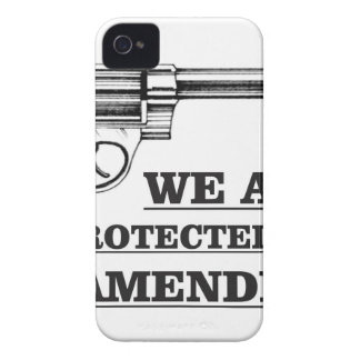 gun and the 2nd Case-Mate iPhone 4 cases