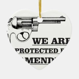 gun and the 2nd ceramic ornament