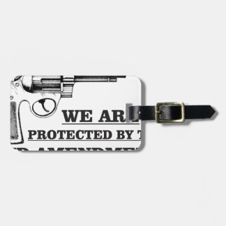 gun and the 2nd luggage tag