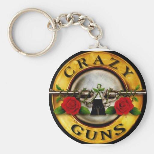 gun art keychain