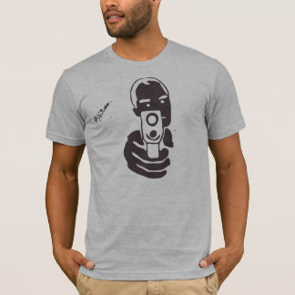 Gun Barrel, Charcoal T-Shirt