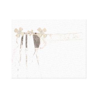 Gun Bride Canvas Canvas Print