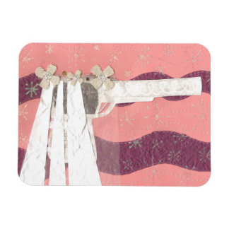 Gun Bride Photo Magnet