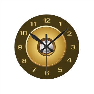 Gun Bullet Wall Clock