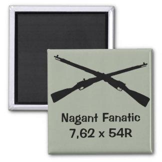 Gun cabinet magnet for Nagant collector!