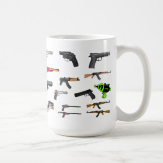 gun collection coffee mug