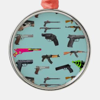 gun collection ornament