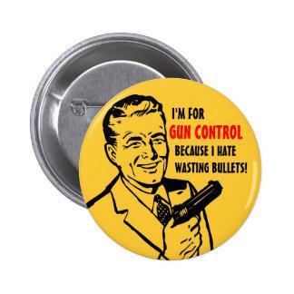 Gun Control Button Button