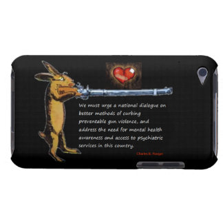 Gun Control - Charles B. Rangel Quote Case-Mate iPod Touch Case