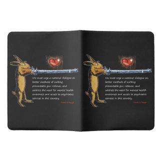 Gun Control - Charles B. Rangel Quote Extra Large Moleskine Notebook