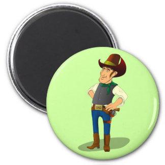 Gun Control Debate, Clarence the Cowboy Magnet